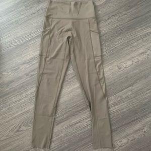 Aerie Offline Goals High Waist Mesh Pocket legging
